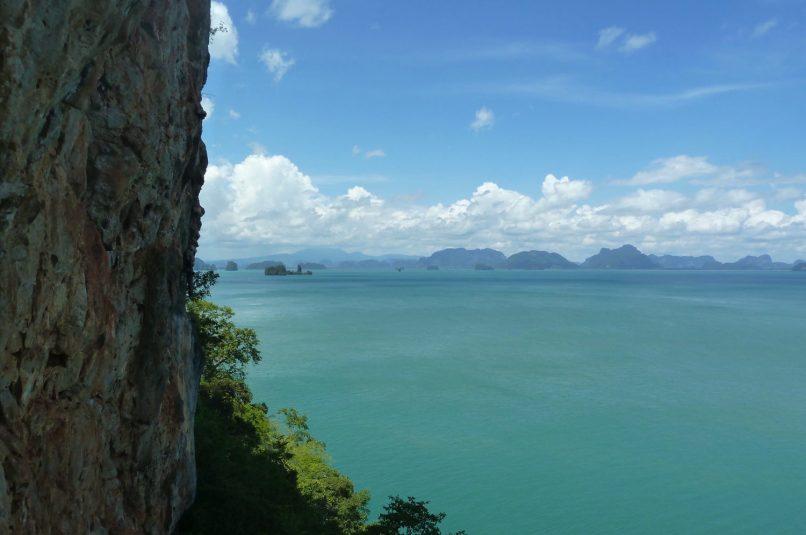 rock climbing in koh yao noi