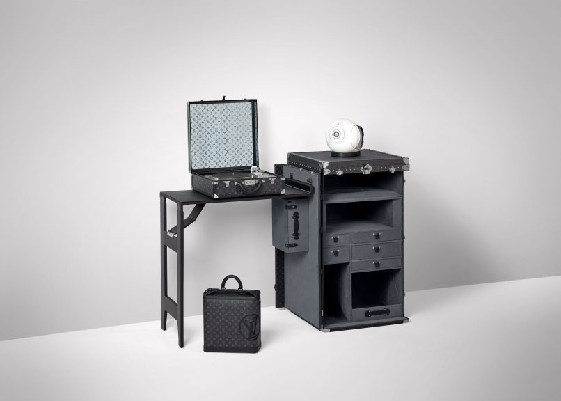 Louis Vuitton Devialet DJ Trunk