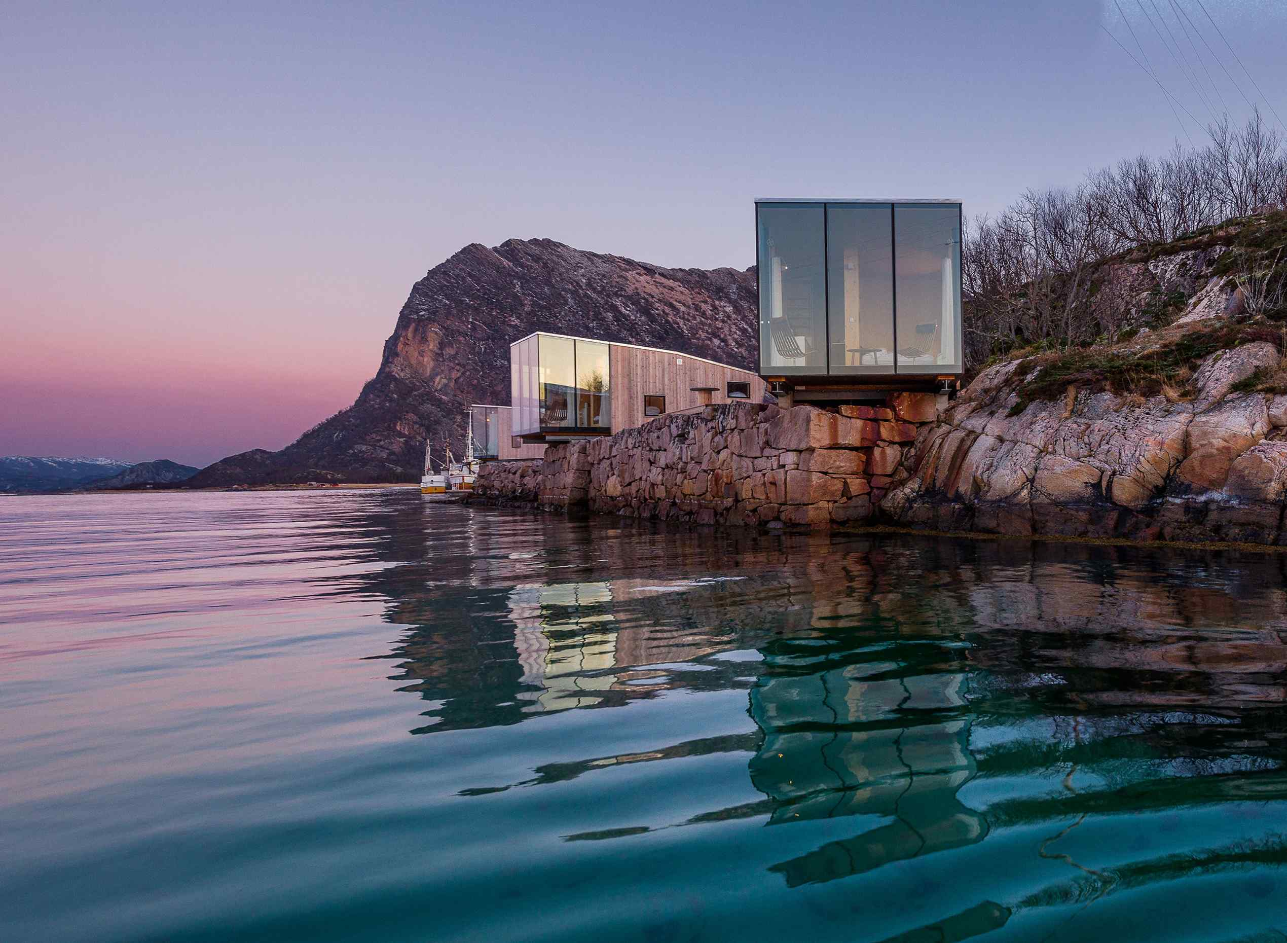 Architecturally stunning cabins for your next nature retreat