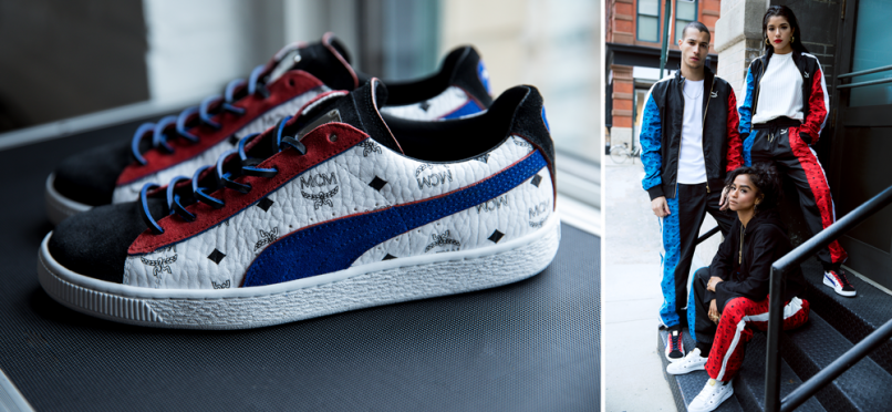 finest selection 53d49 9f4bc The Puma x MCM project is a culture-packed tribute to the '80s