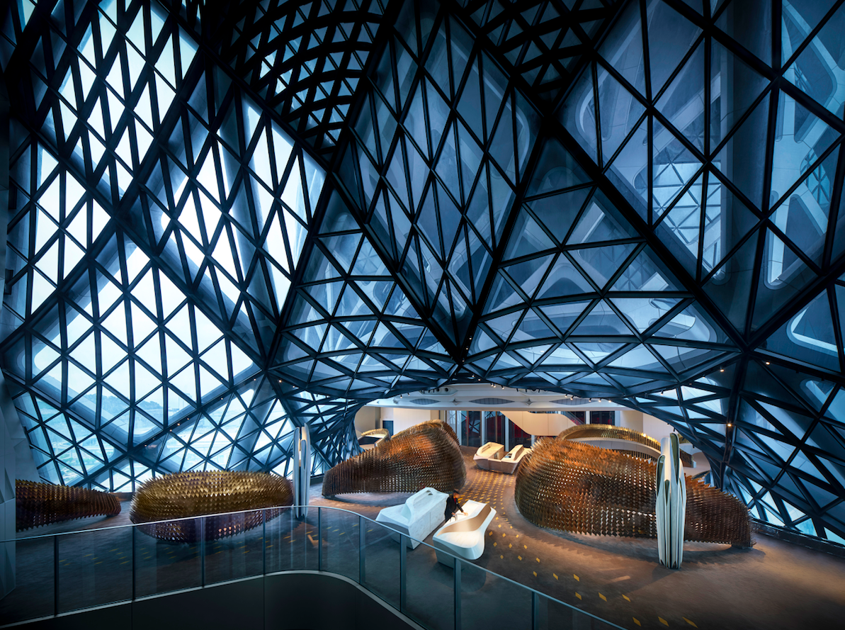 Morpheus hotel by zaha hadid is macau 39 s newest - Best architects in the world ...