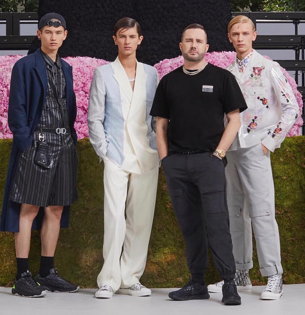 a1ac91d4 Kim Jones enlisted Kaws, Alyx and a Danish prince in his Dior Homme debut