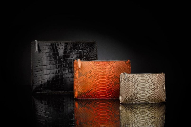 exotic leather bag