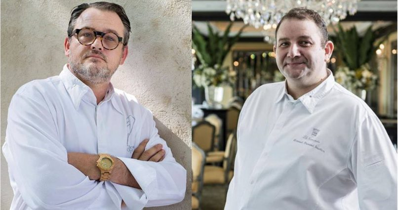 2 Michelin-Starred Chef, Bruno Oger at Le Normandie