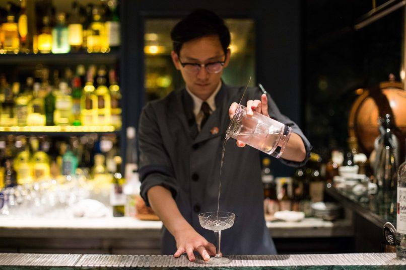 Cocktail at Vesper Cocktail Bar Bangkok