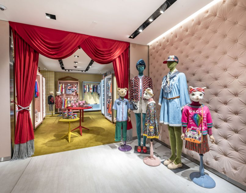 95e9e7ef213 A visual tour through the newly renovated Gucci Paragon boutique
