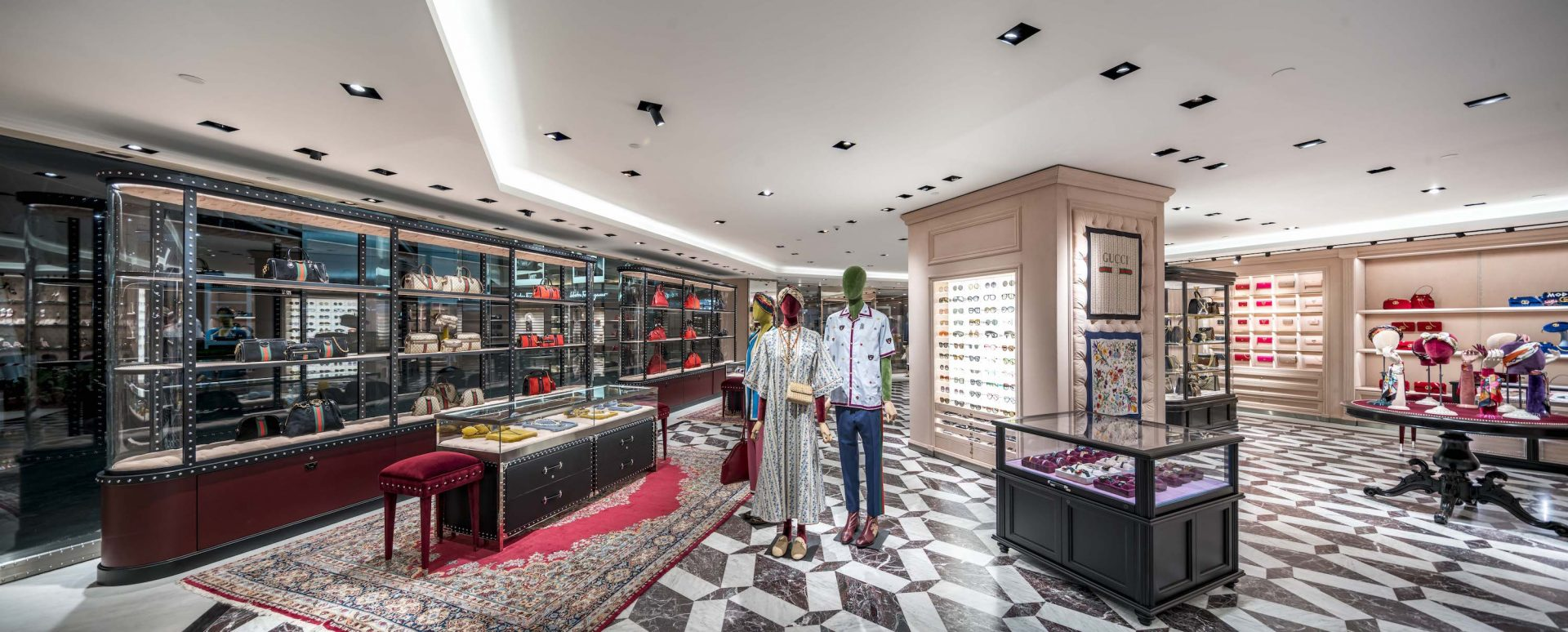 9e87c3d11 Gucci revamps its Paragon store offering 10,000 square feet of branded  paradise