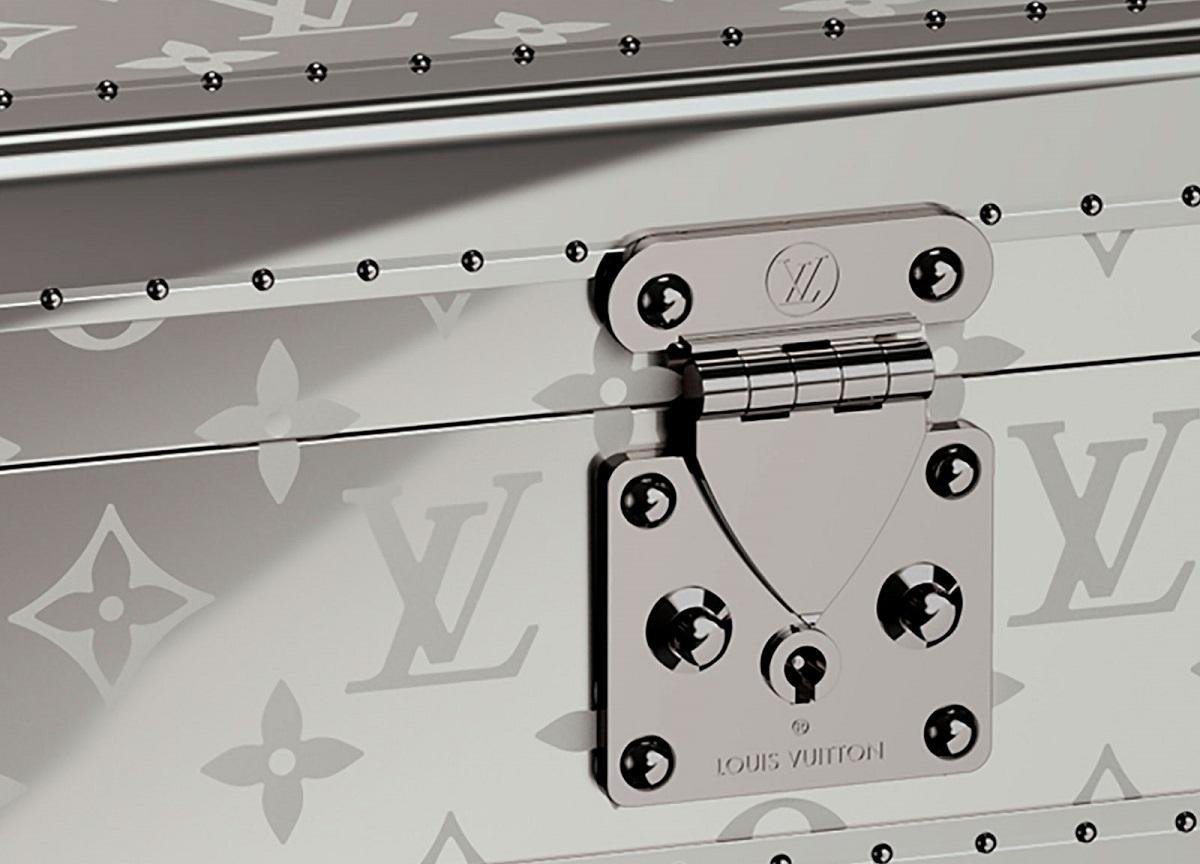 Louis Vuitton's Monogram Titanium watch trunk