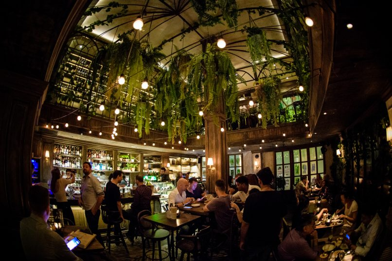 The Bar Upstairs interior