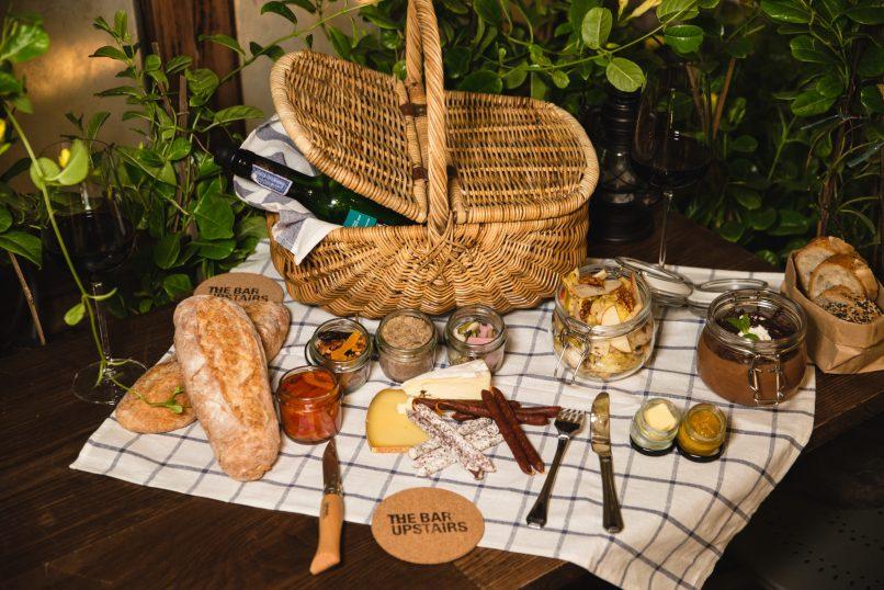 The Bar Upstairs picnic basket
