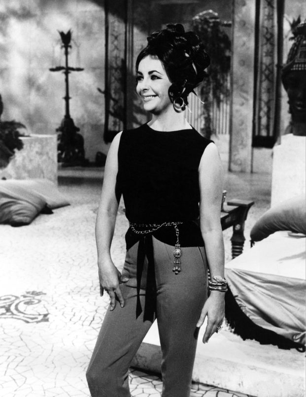 Elizabeth Taylor was photographed on set in 1962 with a Serpenti piece. Image: Courtesy Bulgari