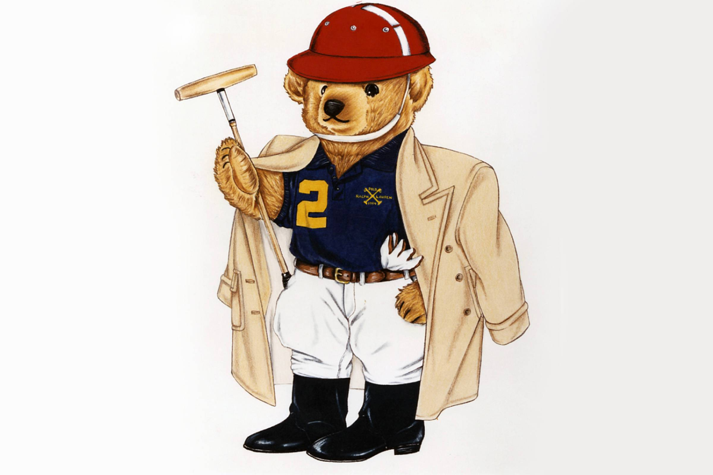 Behind The Lauren's Polo Ralph Bear Iconic History sdQthrC