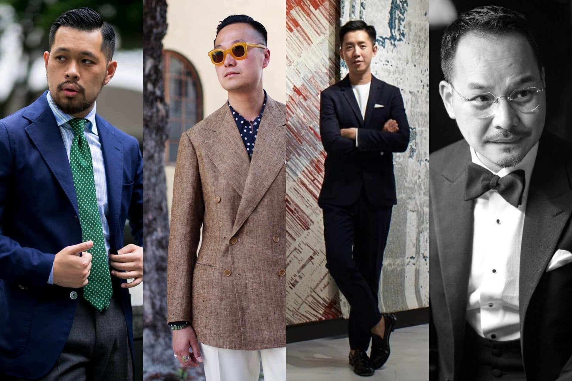 stylish Hong Kong gentlemen