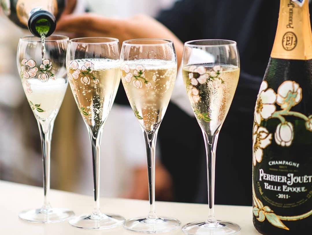 Bangkok champagne bars: Jouet Perrier