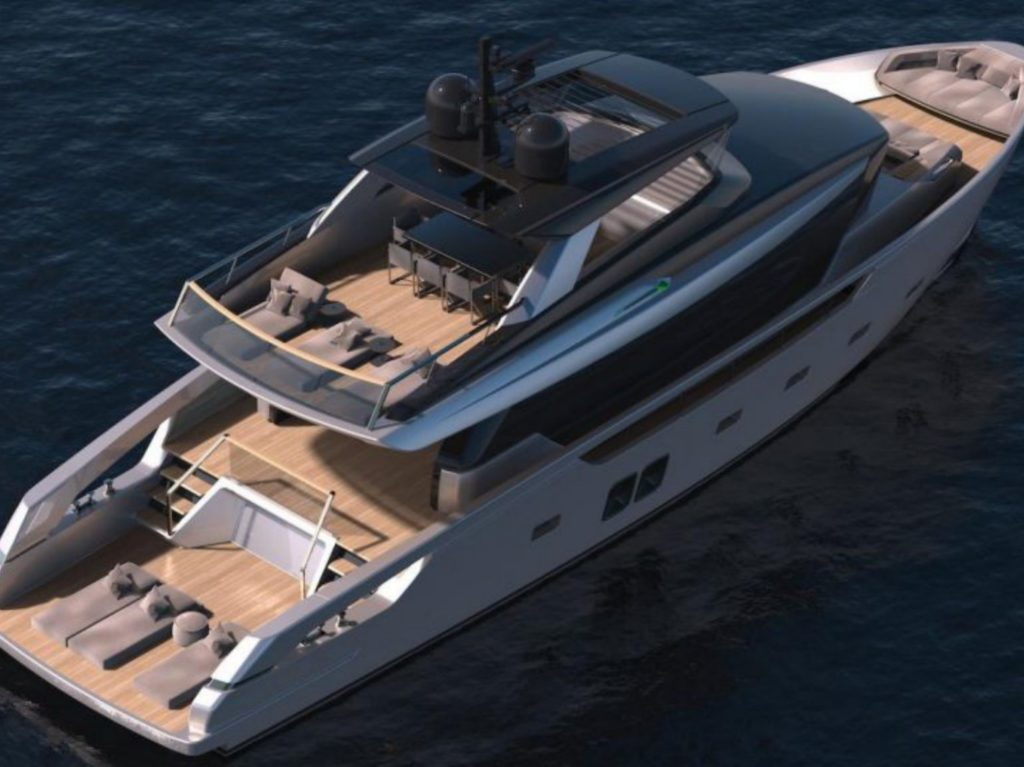 2018 yachts to know - Sanlorenzo SX76