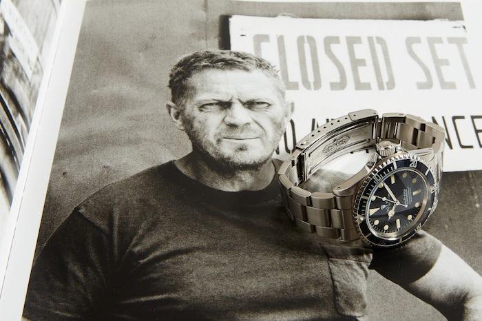 Steve McQueen Rolex Submariner