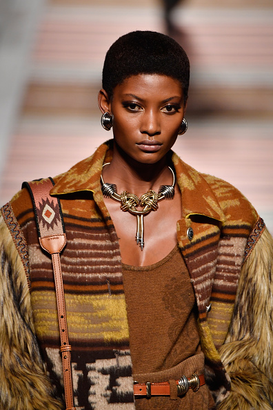 Tribal influences at Etro. Image: Courtesy Pietro D'aprano/Getty Images