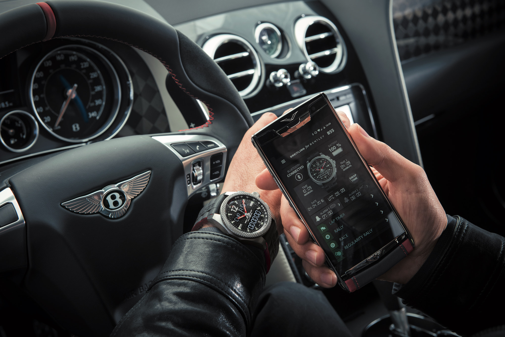 The Bentley x Vertu phone