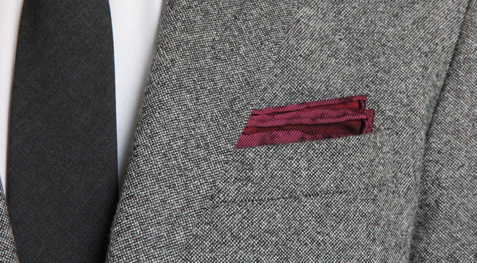 How To Puff A Pocket Square