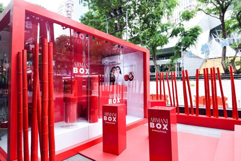 armani box singapore