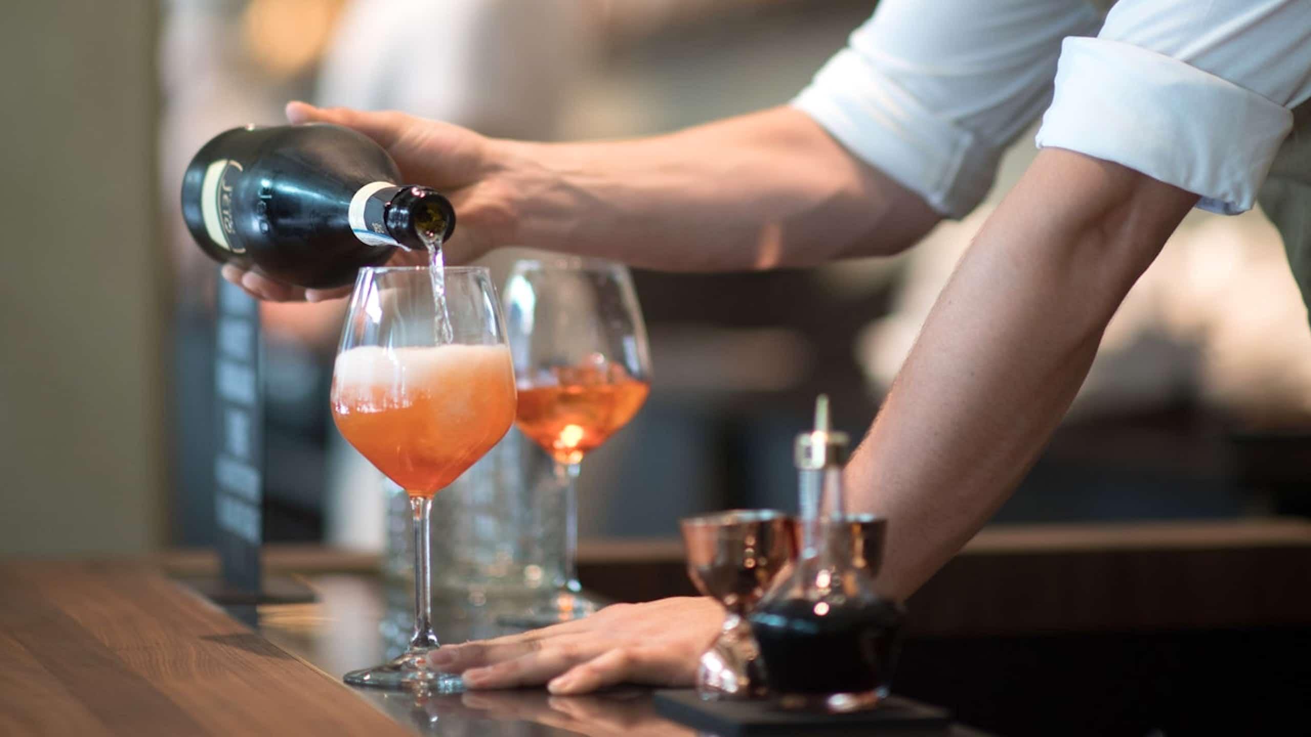 Hong Kong bartender