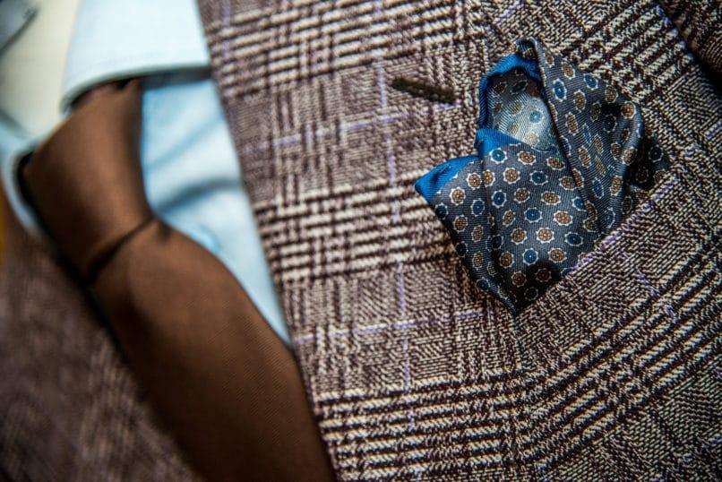Menswear Pattern Mixing