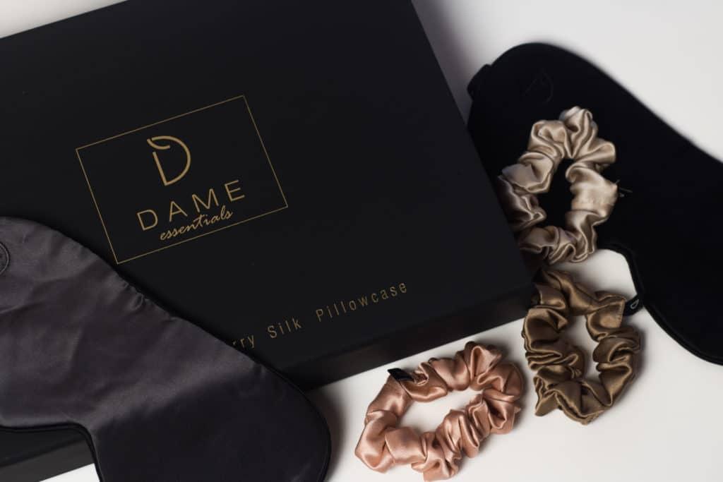 dame essentials scrunchies