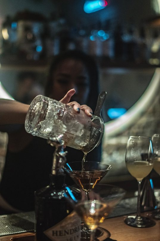 stir your cocktails