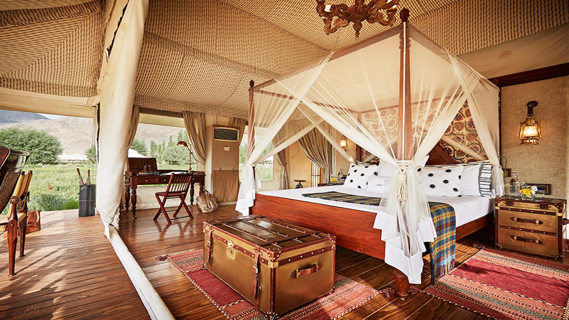 luxury wildlife resorts in India