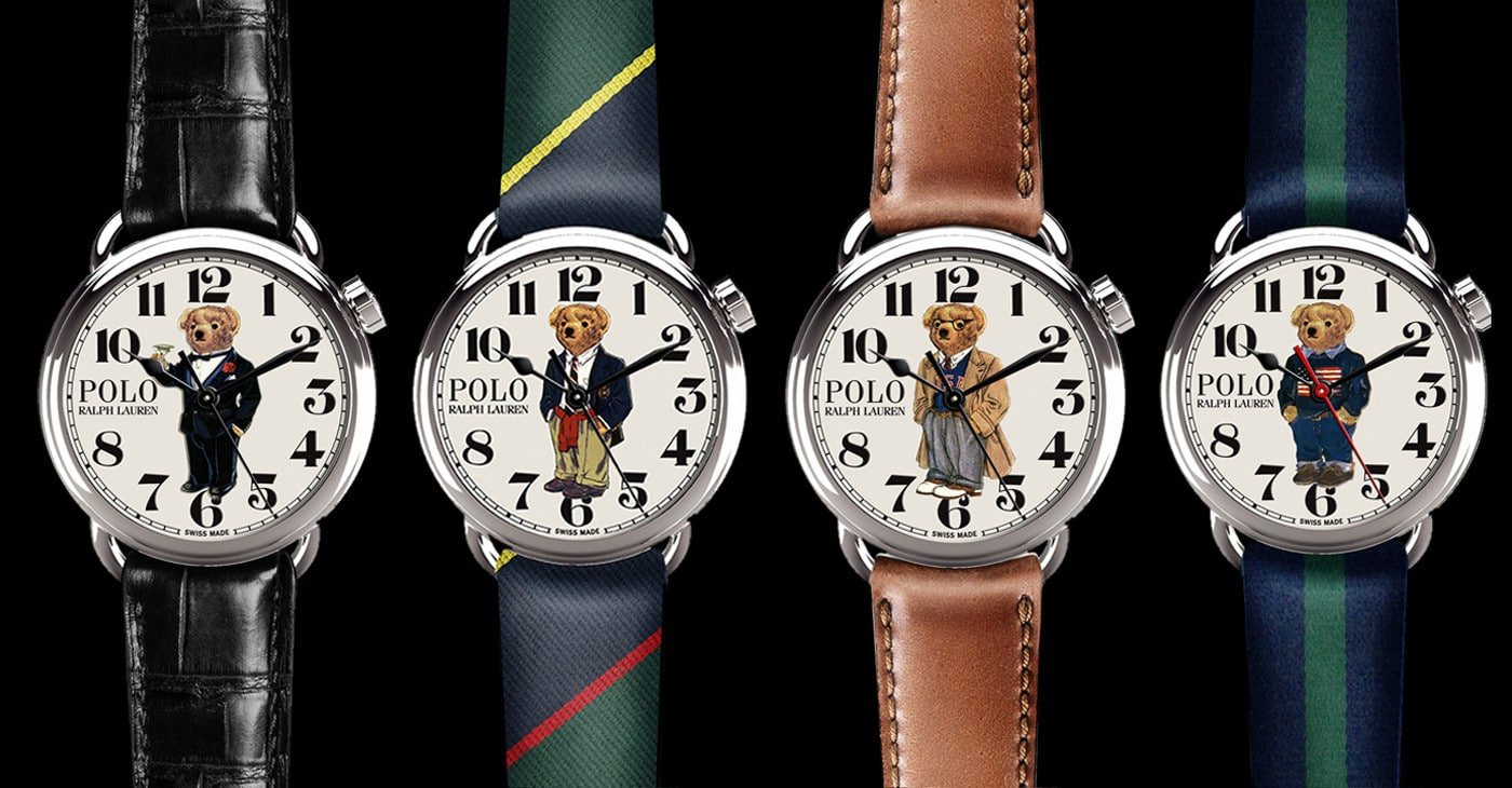 20ef4c613a6f The Polo Bear Watch Collection is a charming tribute to Ralph Lauren's  iconic mascot