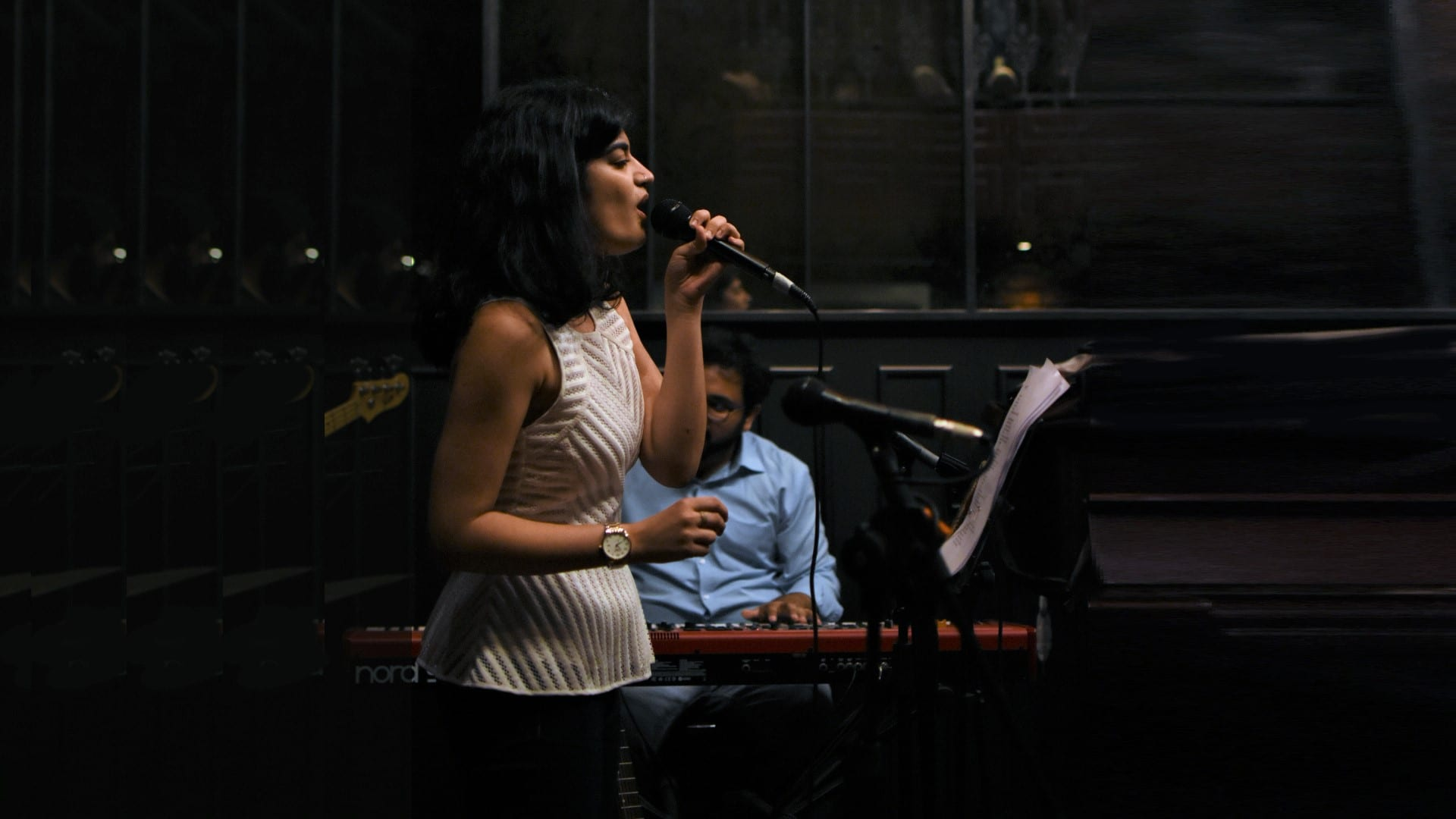 Performance at The Piano Man Jazz Club