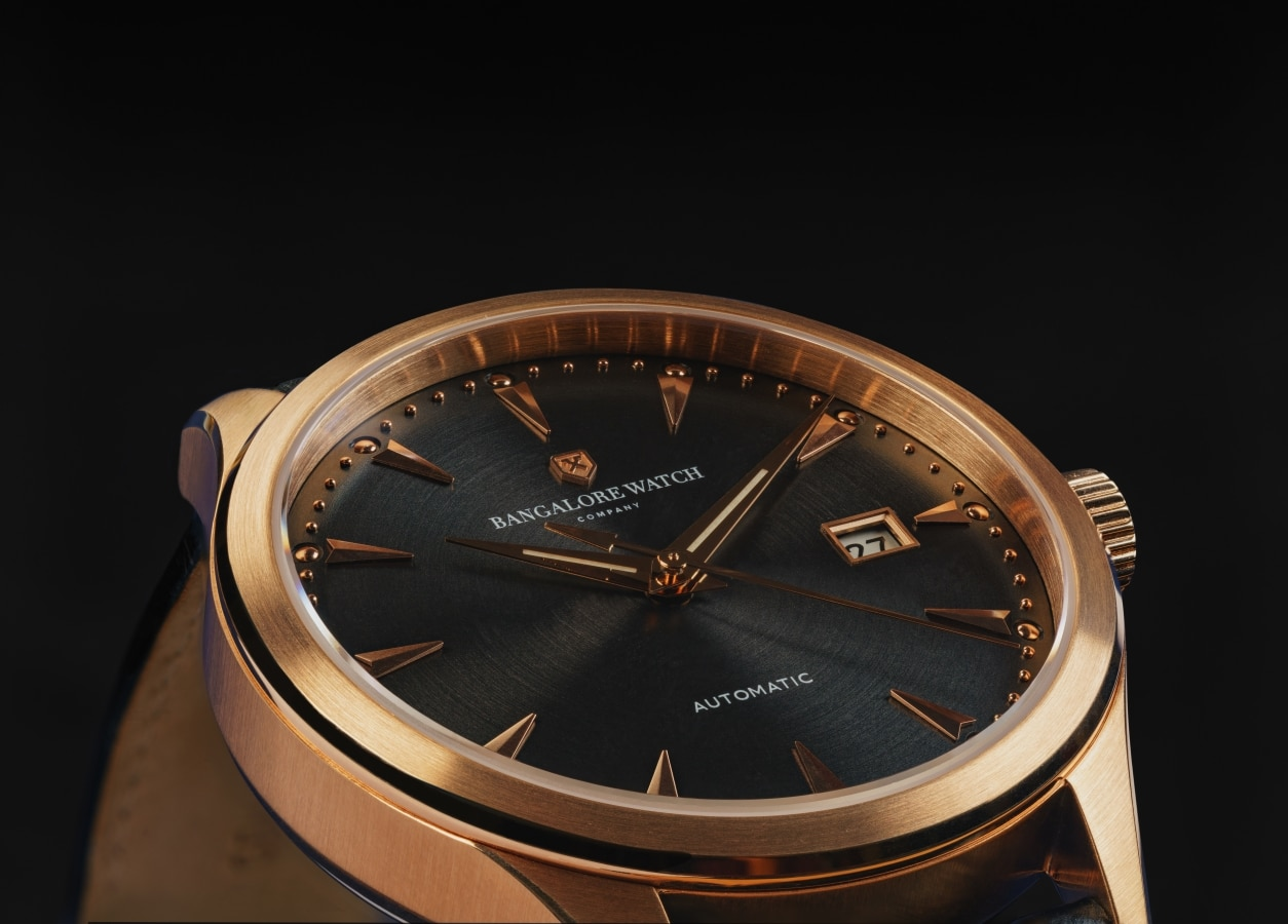 Details of Bangalore Watch Company's Renaissance collection
