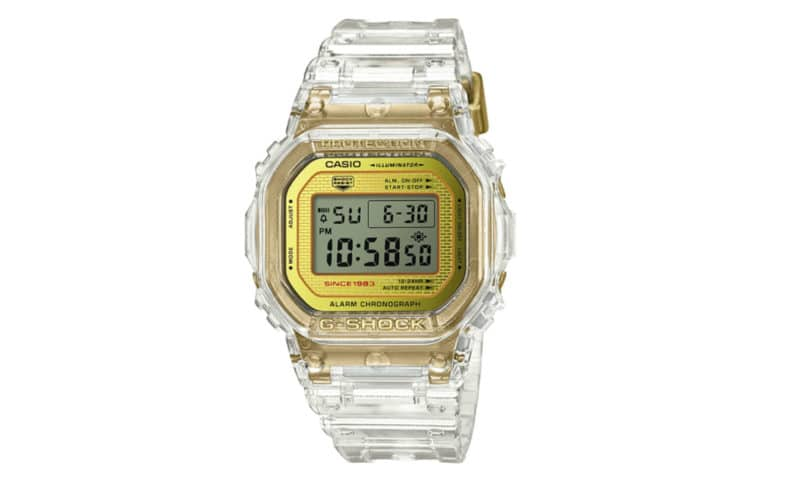 Transparent Watches: Casio G-Shock
