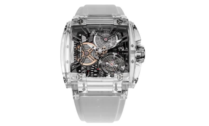 Transparent Watches: Rebellion