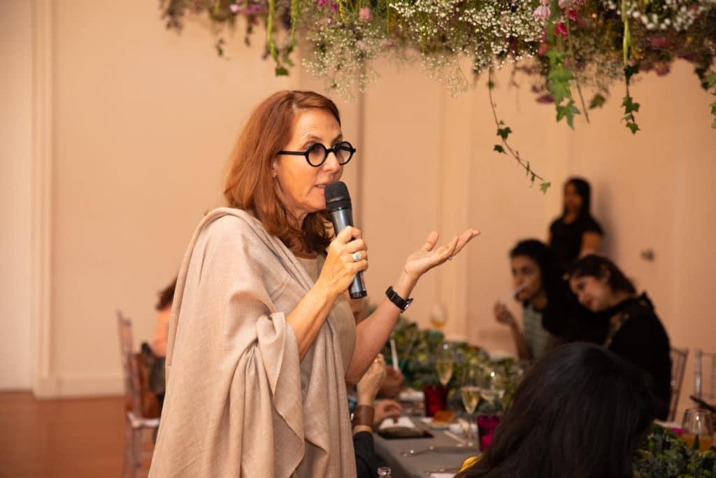 Christine Nagel at Hermès India