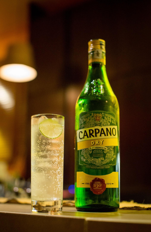 Vermouth Soda.