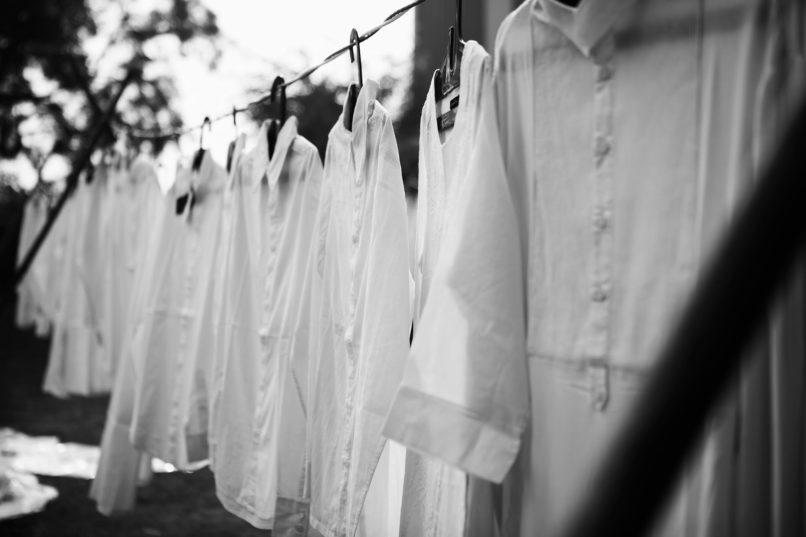 Classic white shirts. Image: Courtesy Rajesh Pratap Singh