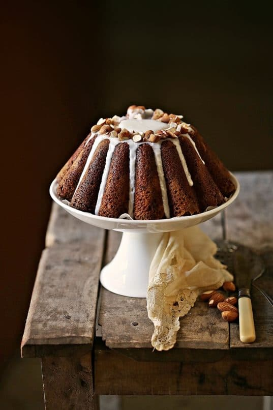 Wholewheat Almond Chocolate Orange Olive Oil Yogurt Cake