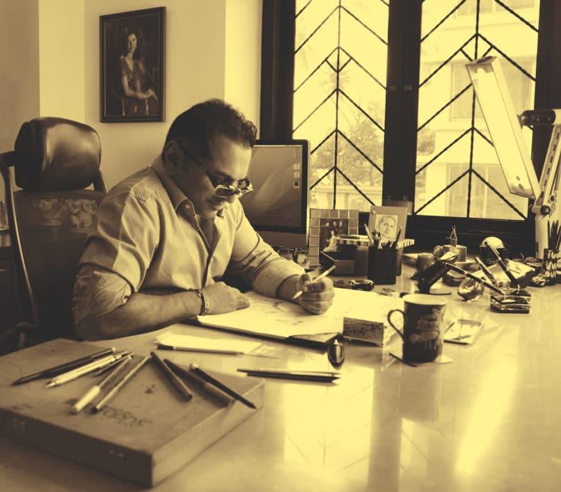 Managing director of the House of Rose, Biren Vaidya