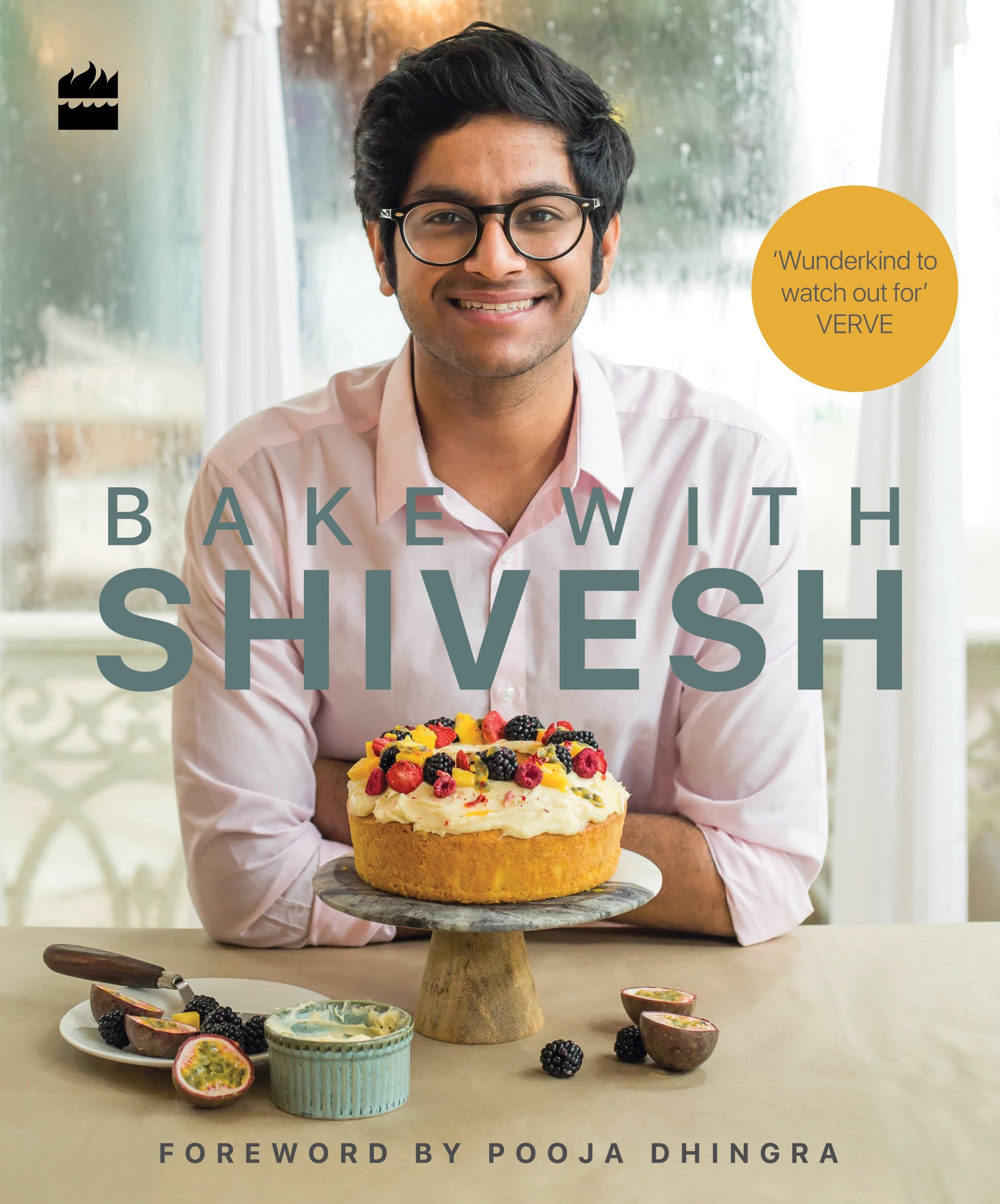 'Bake with Shivesh' cover