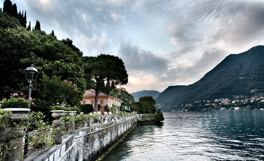 Villa Pizzo on Lake Como
