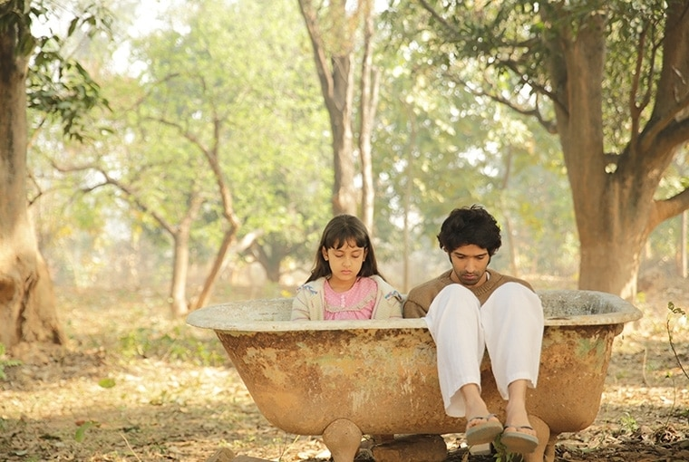 A still from the movie A Death in the Gunj