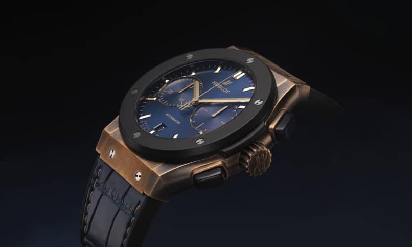 Classic Fusion Bronze Bucherer Blue