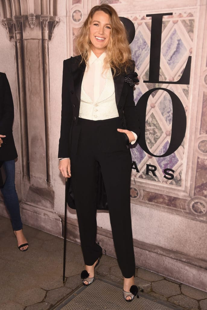 Blake Lively attends the Ralph Lauren 50th Anniversary. Image: Courtesy: Gary Gershoff/WireImage
