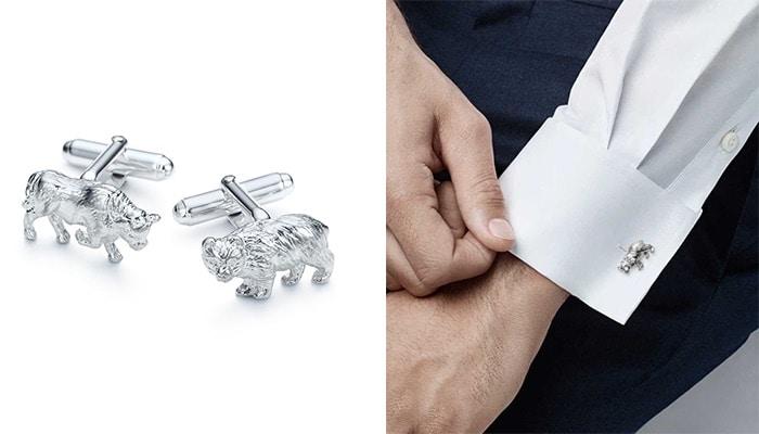 Designer Cufflinks: Tiffany