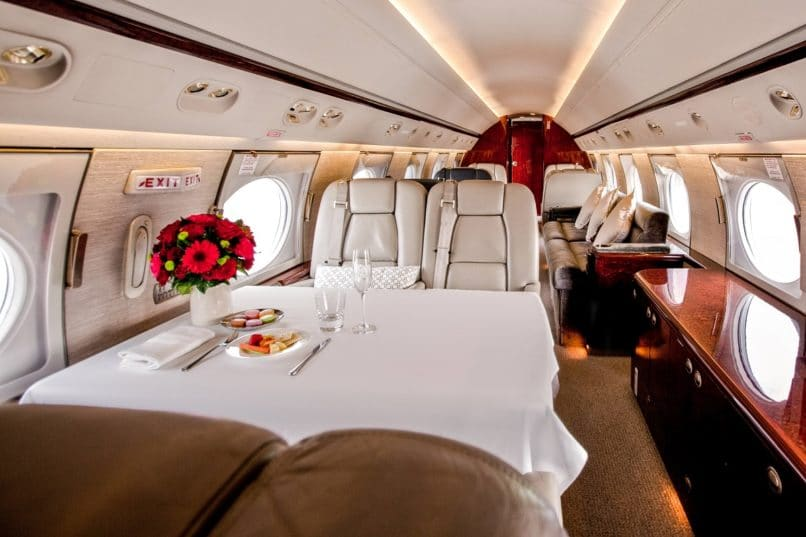 MJETS Gulfstream V for Anantara Private Jet Experience