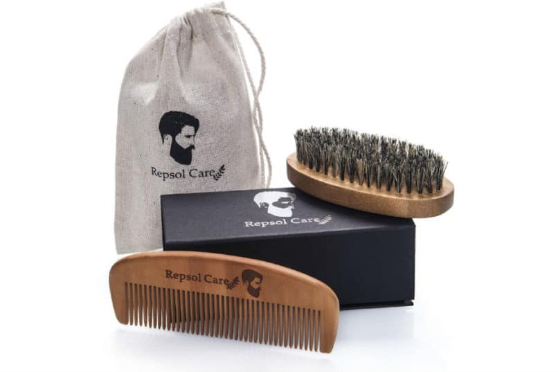 Repsol Care - Beard Brush and Comb Kit II