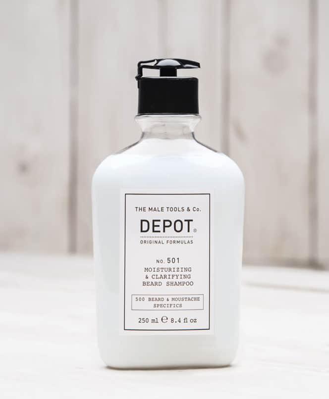 DEPOT No.501 Moisturizing & Clarifying Beard Shampoo