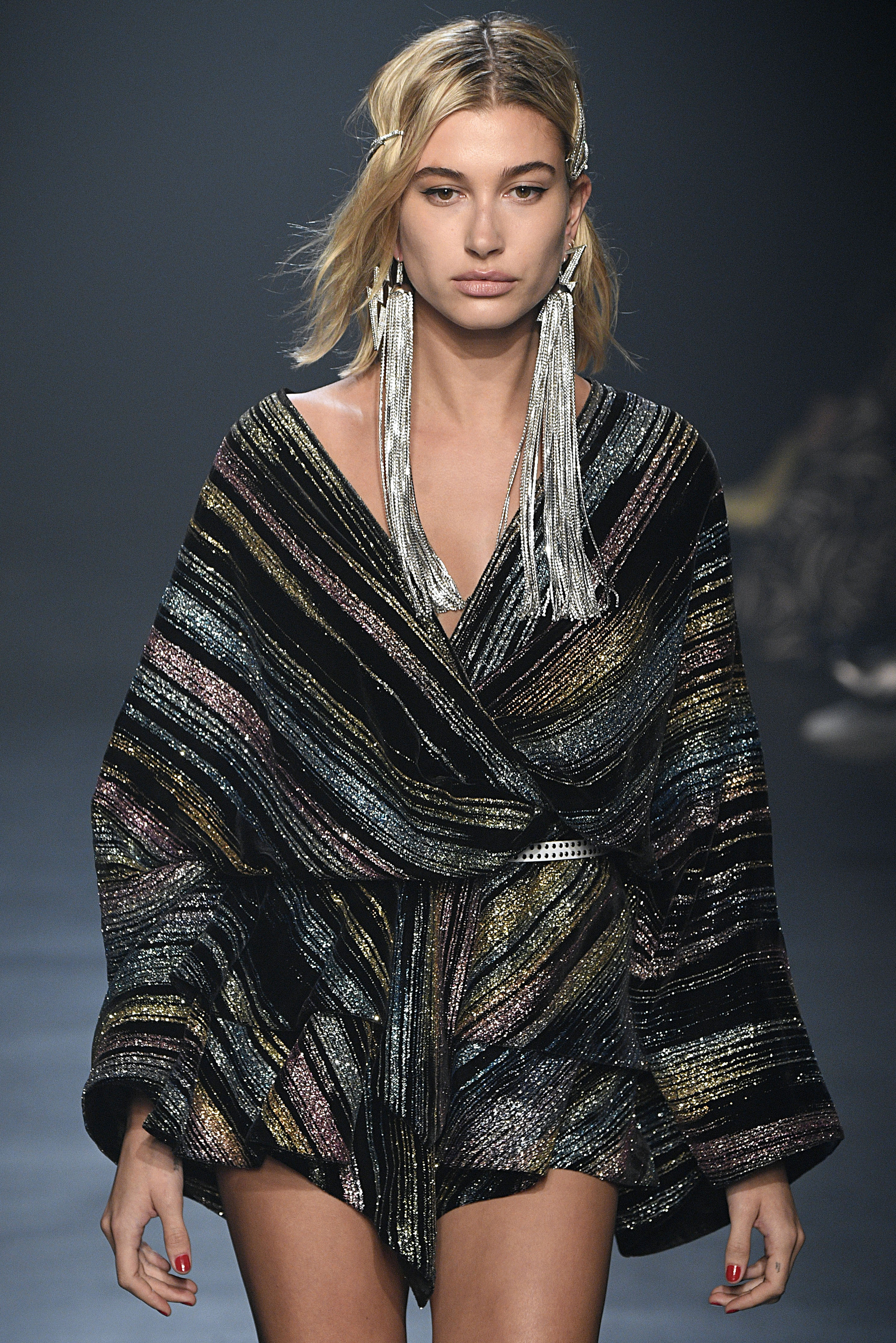 Zadig & Voltaire keeping it up with the oversized trend. Image: Courtesy Victor VIRGILE/Gamma-Rapho via Getty Images