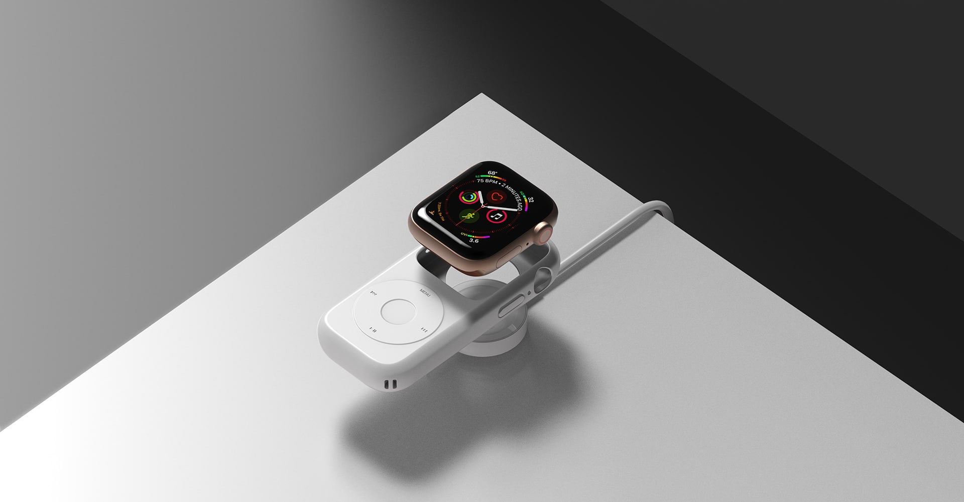 Apple Watch iPod Case Concept